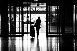 femme et voyage